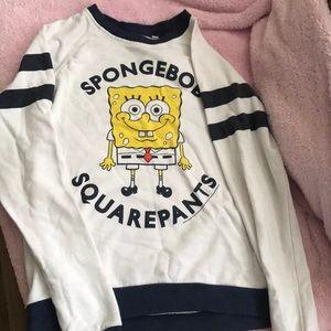 Spongebob sweater xs